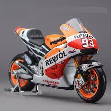 Model Bike 1:10 #93 Marc Marquez - Repsol Honda - Pocketbike SA