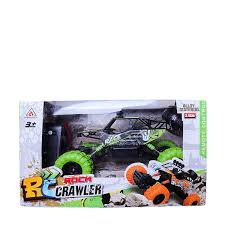 1:12 SCALE RC 4WD ROCK CRAWLER - WITH RUBBER TYRES