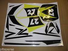 Dirt Bike Stickers (Yellow)