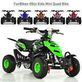 NEW 2020 Model KXD 3HP 50cc Mini Quad - (Green) FREE DELIVERY NATION WIDE - Pocketbike SA