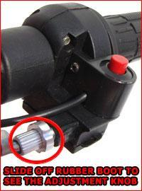 Loose Cable Adjustment Knob