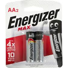 Energizer MAX pack of X2 AA batteries