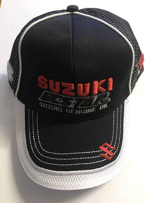 Suzuki Ecstar Racing Cap - Black - Pocketbike SA