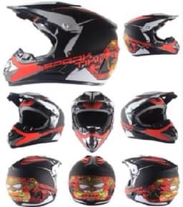 Kids Motocross Helmet - Spark Design