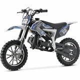 SYX MOTO 2021 50cc 2 Stroke 3HP Mini Dirt Bike - Blue & White