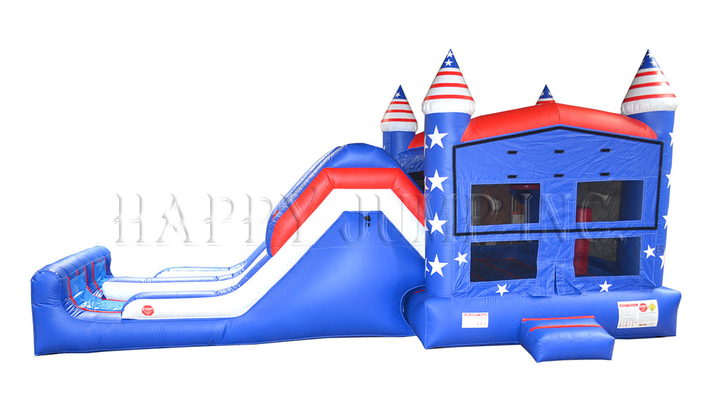 Celebrate The Fourth Of July With A Happy Jump Inc. Inflatable!!
