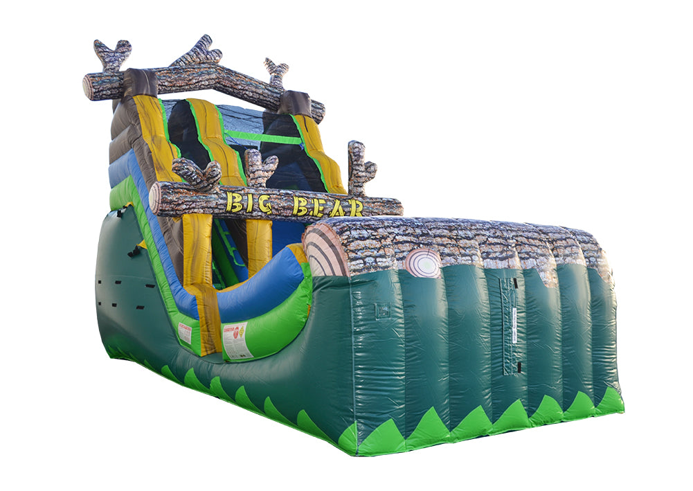 Wet & Dry Inflatable Slides Can Be Used All Year Round!
