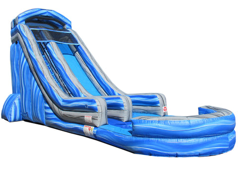 22' Blue Splash Water Slide - WS8722