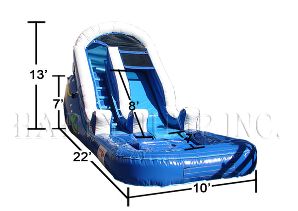 Backyard Water Slide Tropical - WS4208