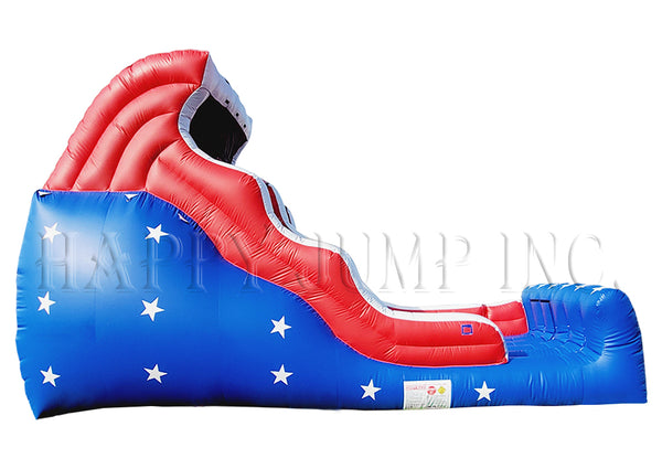 18' Double Drop Wet & Dry - Patriotic - WS4123
