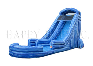 22' Blue Marble Water Slide - WS8622
