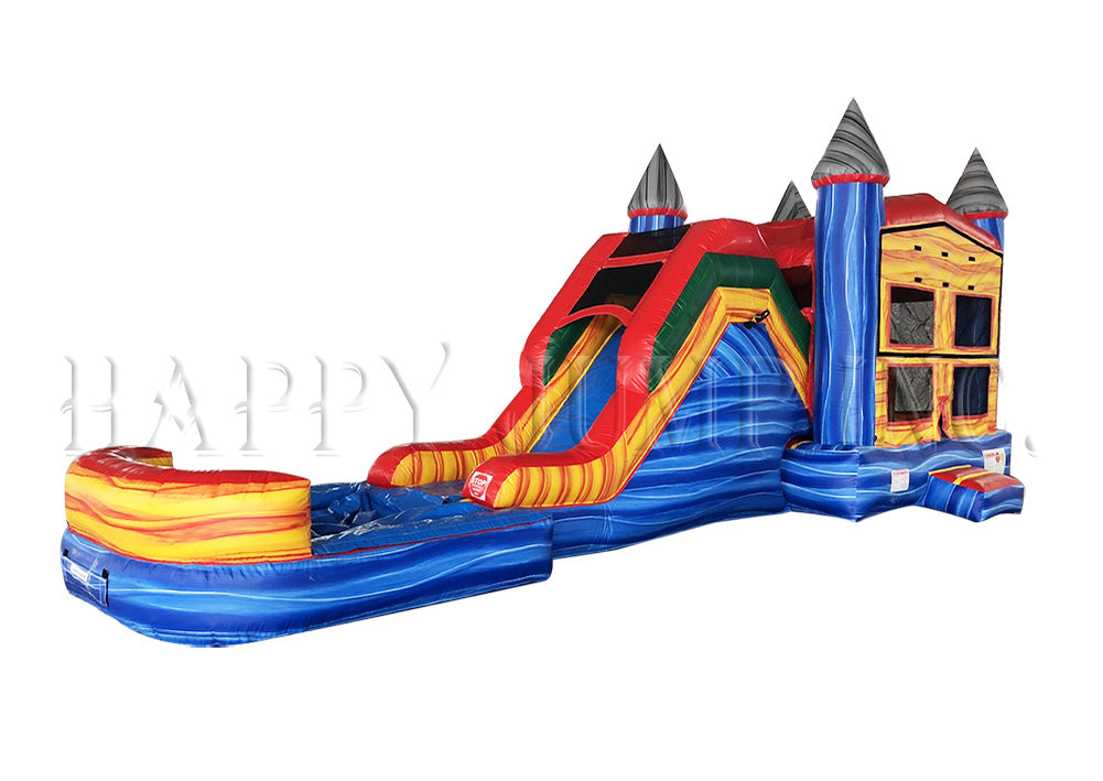 5in1 Super Combo Castle with Pool (Marble) - CO2170-1M