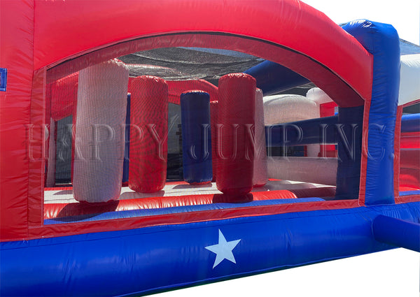 Obstacle Course 3 Patriotic Theme - IG5143