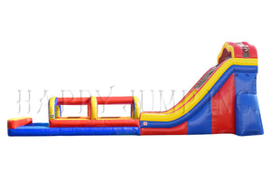 20' Water Slide with Slip & Slide Pool - WS4168