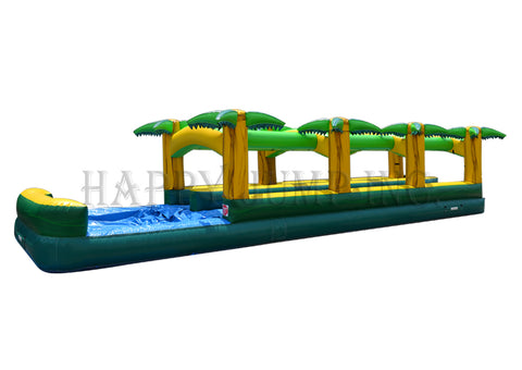 Hawaiian Slip & Slide Double Lane w Pool - WS4313