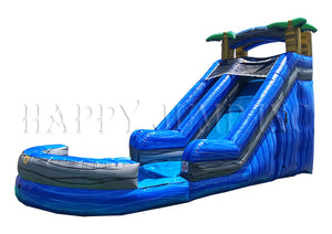 18' Blue Wave Water Slide (Marble) - WS8318