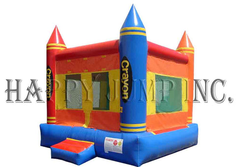 Crayon Bounce House - MN1152