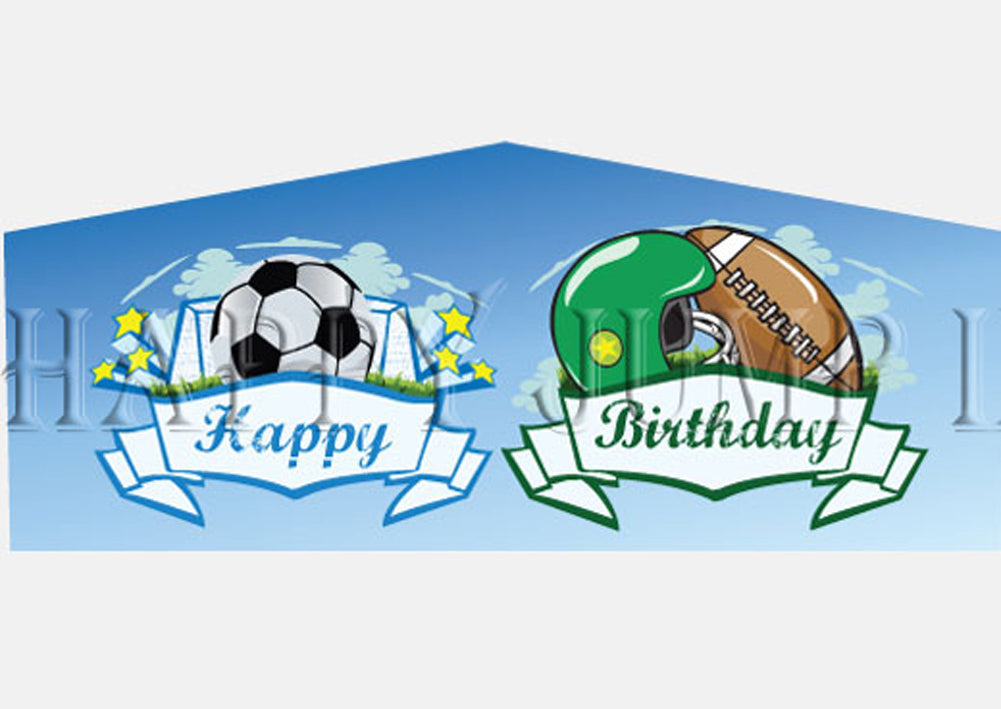 Happy Birthday Sports Theme -  PL9537