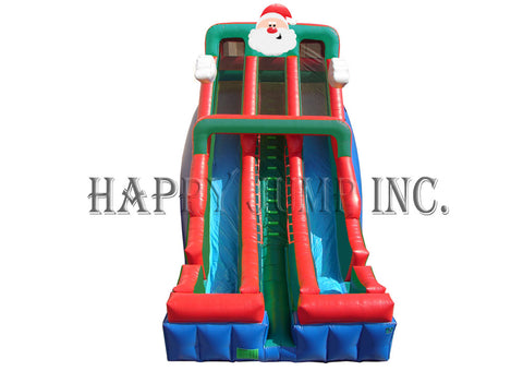 Santa 24' Double Lane Slide - SL3164