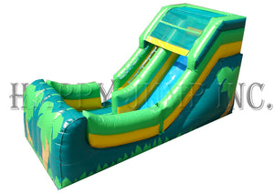 12' Wet and Dry Slide - Tropical Theme - WS4102