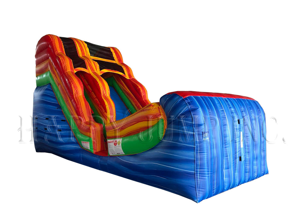 Blue Wave (16' Wet & Dry Slide) - WS4117