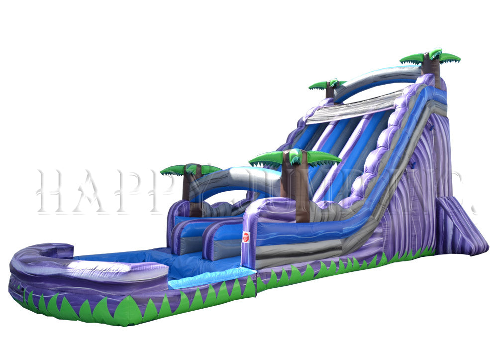 22' Double Bay Water Slide - WS4150