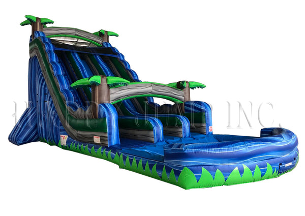 Blue Bay Water Slide (22' Double ) - WS4151