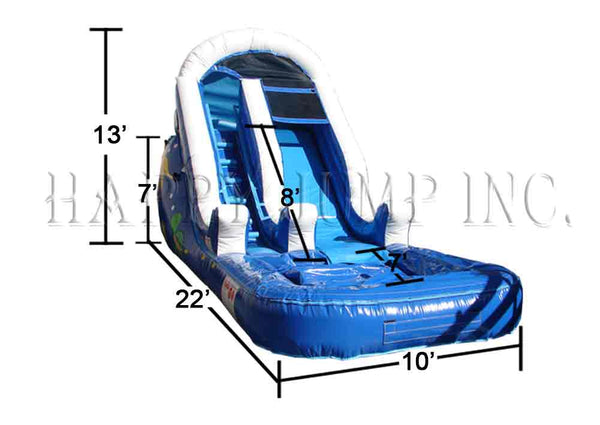 13' Backyard Water Slide - WS4206