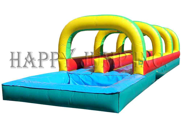 Slip and Slide - Double Lane w Pool - WS4303