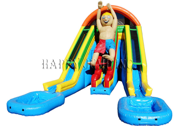 Raging Rapids 22'' Water Slide W/ Character - WS4401