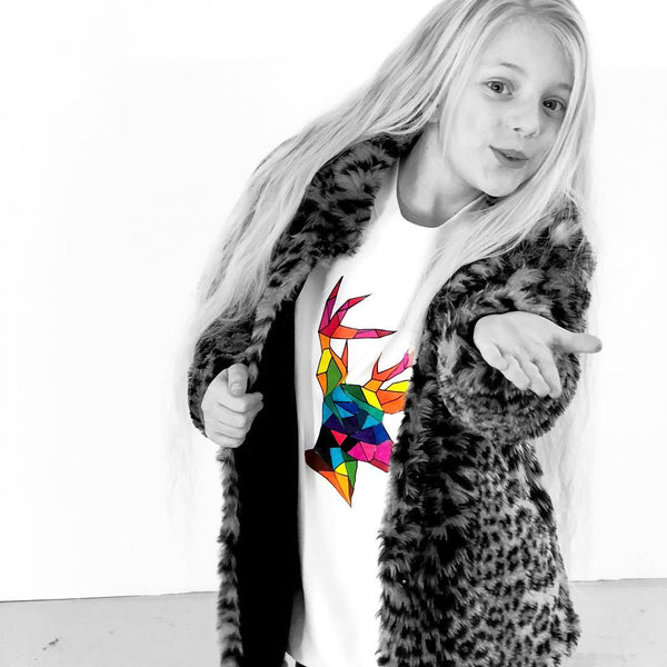 Lilly - 10 year old co-founder of Lilly + Boo personalised kids clothing line UK