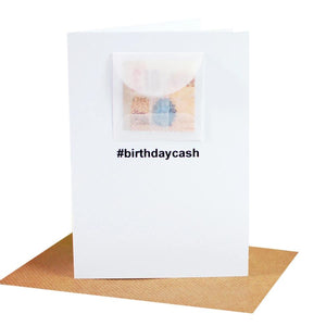 Wholesale Cards: Hashtag Birthday Cash Card