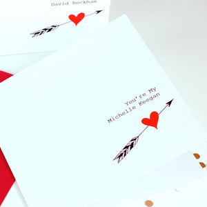 Funny valentines card | The Luxe co