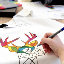 Load image into Gallery viewer, Kids Colour Your Own Personalised Christmas jumper