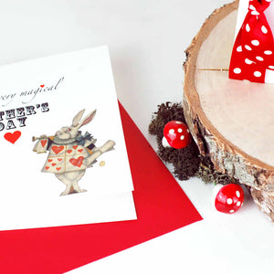 Personalised Alice In Wonderland Birthday Card - theluxeco.co.uk