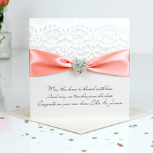 Load image into Gallery viewer, Beautiful New home card Opulence heart - theluxeco.co.uk