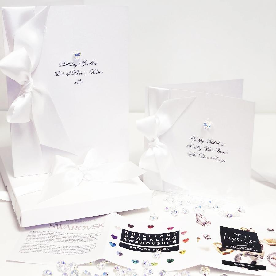 Luxury christening cards by the luxe co