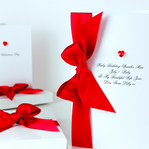 Luxury Boxed Valentines Card | The Luxe Co