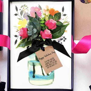 Rose Mothers Day card | The Luxe Co