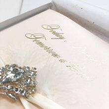 Load image into Gallery viewer, Blush Bling Gold Foil exquisite Luxury Cards - theluxeco.co.uk