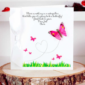 Flutter Bright Butterfly Card - theluxeco.co.uk