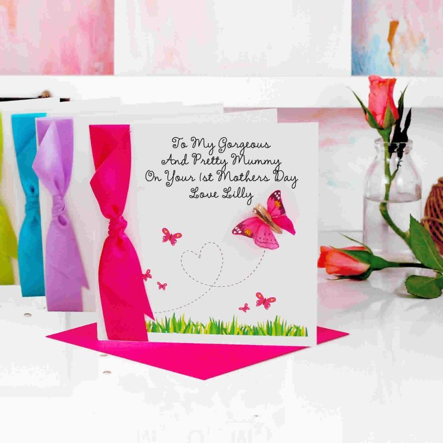 First Mothers Day Card from baby | The Luxe Co