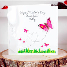 Load image into Gallery viewer, First Mothers day Butterfly Greetings Card | The Luxe Co