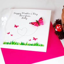 Load image into Gallery viewer, Handmade Mothers Day card for first mothers day | The Luxe Co