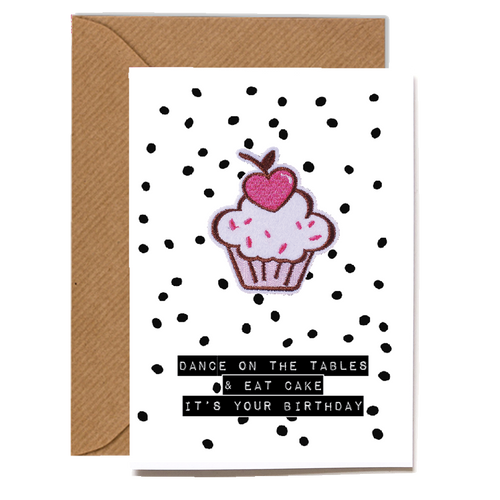 Wholesale Cards: Playful Scented Motif Cards - Cupcake