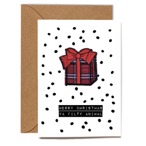 Wholesale Cards: Playful Scented Motif Cards - Christmas Gift