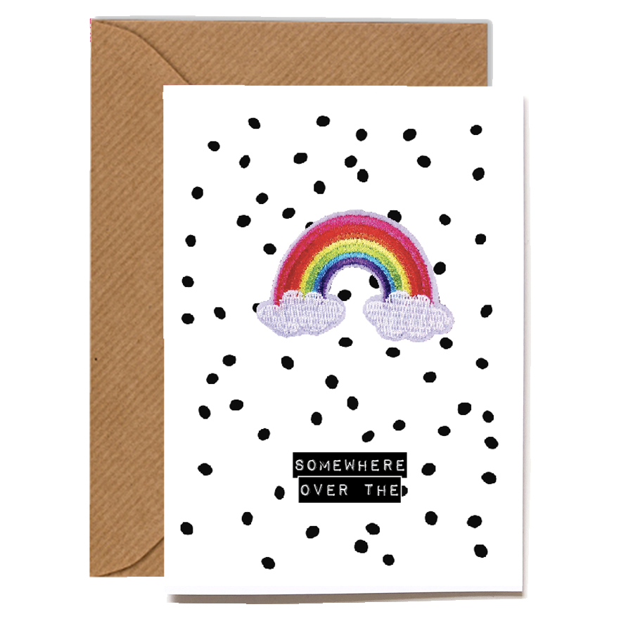Wholesale Cards: Playful Scented Motif Cards - Rainbow