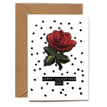 Load image into Gallery viewer, Wholesale Cards: Playful Scented Motif Cards - Red Rose