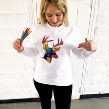 Load image into Gallery viewer, Colour your own xmas jumper by Lilly and Boo at The Luxe Co