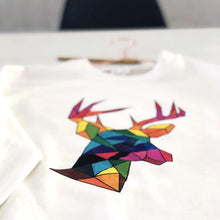 Load image into Gallery viewer, Rainbow christmas jumper By Lilly + Boo at The Luxe Co